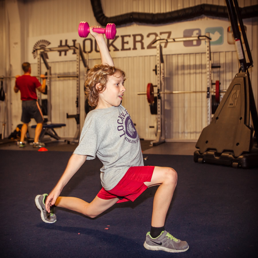 Weights and Stretching - Fitness Classes and Training for Kids and Teenagers at Locker 27 Gym Youth Academy based at Weybridge Trading Estate