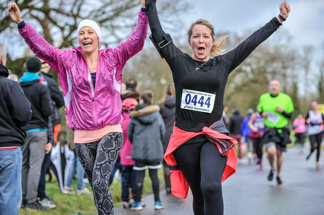 The Asics Weybridge Sports 10k Run - Cheer On The Runners In This Fun Community Sporting Event!