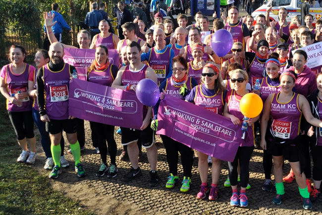 Charity Run- Fundrasing Event for Woking and Sam Beare Weybridge Hospices