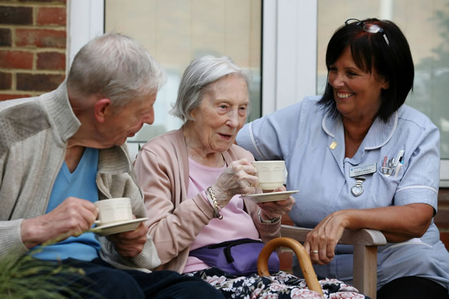Woking and Sam Beare Weybridge Hospices Providing Care To Patients In Surrey