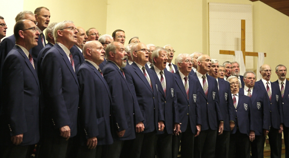 Weybridge Male Voice Choir will be in Concert at Christ The Prince Of Peace Church, Portmore Way, Weybridge