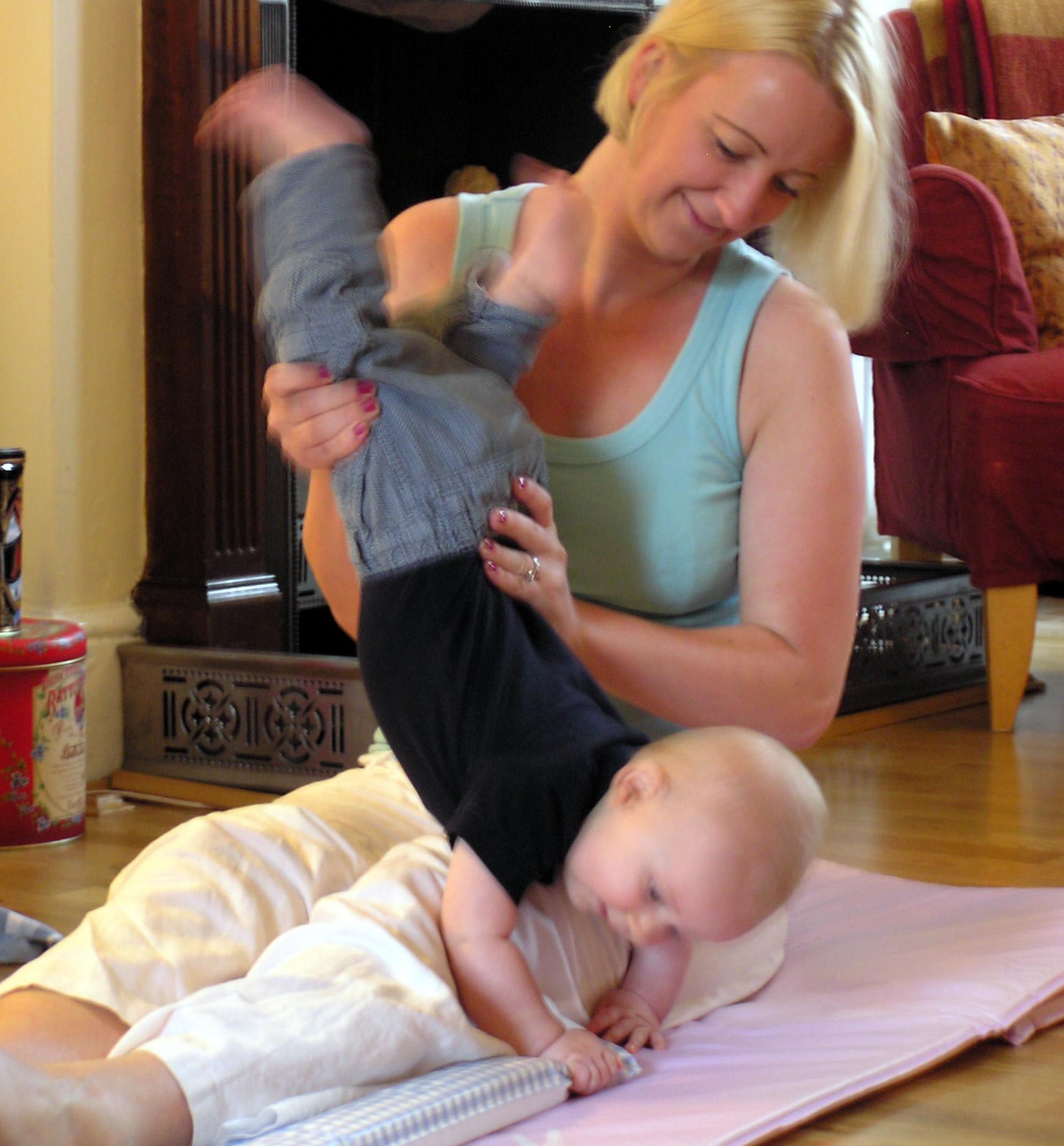 Baby Massage Surrey
