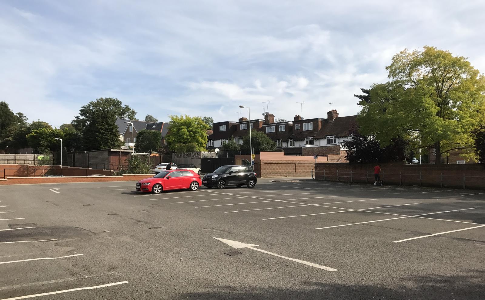 Baker Street Car Park Weybridge