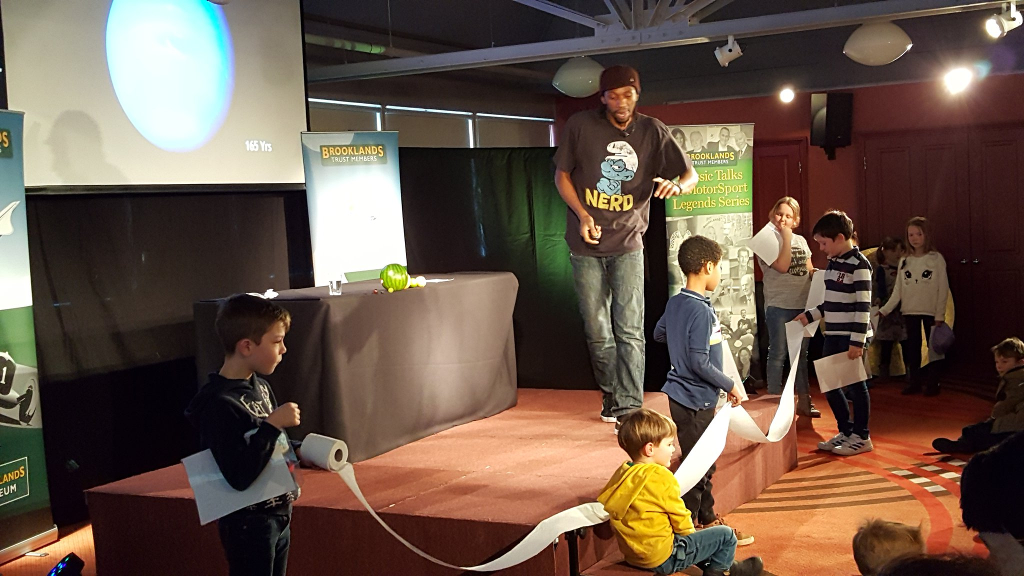 Brooklands Museum Solar System Science Event For Kids