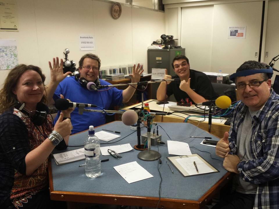 Brooklands Radio Presenters In Weybridge Elmbridge Studio