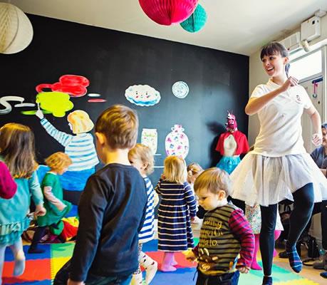 Children Dance and Play - Weybridge Hersham and Walton on Thames Kids Parties