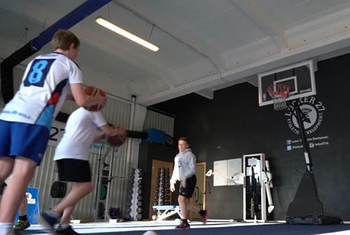 Children Playing Basketball - Fun Classes at Youth Academy WeybridgeSurrey
