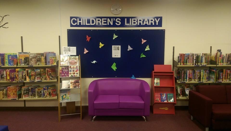 Childrens Library Reading Weybridge Surrey