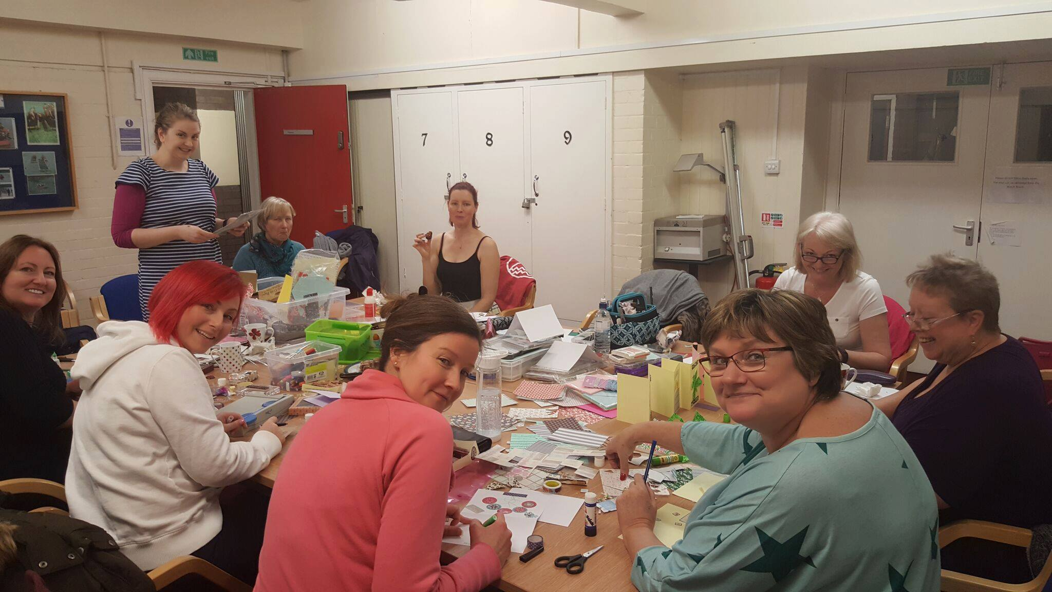 Crafts Group Card Making