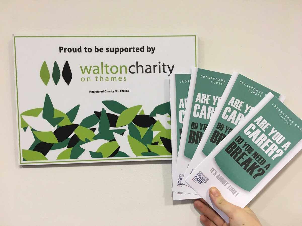 Crossroads Care Leaflet Carers Need a break - Supported by Walton Charity