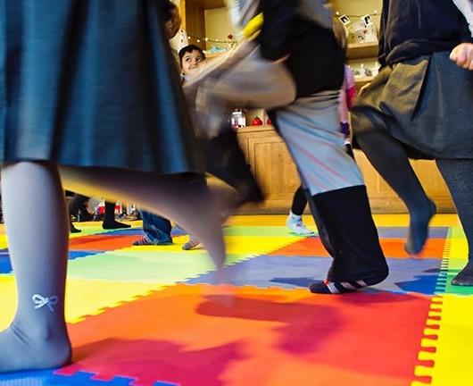 Dancing Children - Fun Dance Classes and Parties for Kids in Esher Hersham Cobham and Weybridge area