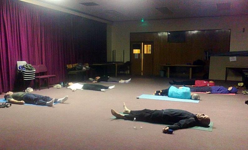 Group Yoga Classes Weybridge Elmbridge Surrey
