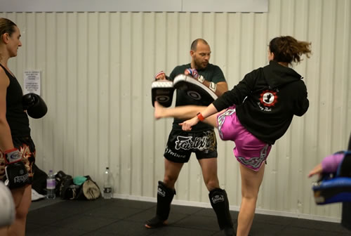 Kickboxing Classes at Athletic Performance Gym'WeybridgeSurrey
