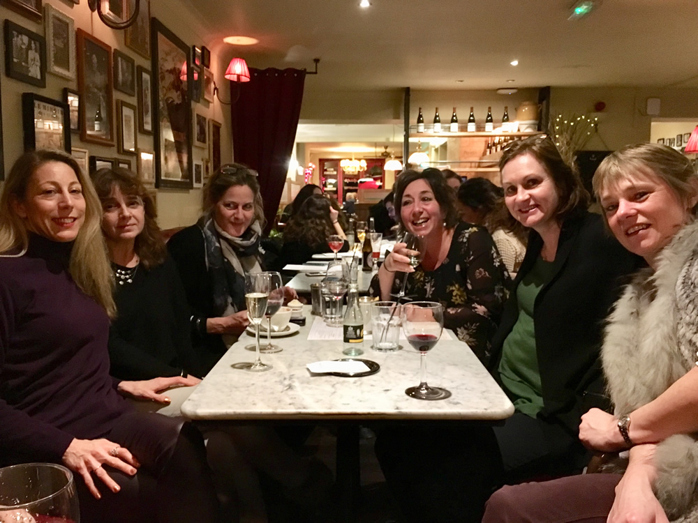 Lecturers and staff from WISE - Weybridge International School Of English at Social Night at Café Rouge