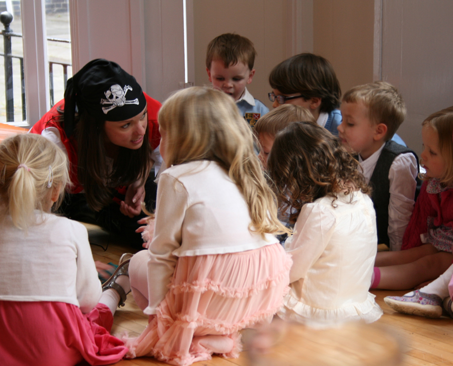 Pirate Fun at Kids Holiday Workshops and Parties in Weybridge Elmbridge Surrey