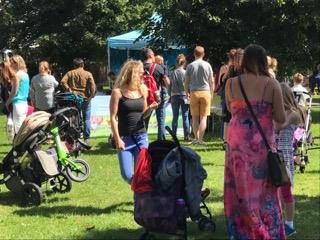 Public at Ride London Surrey Event in Weybridge