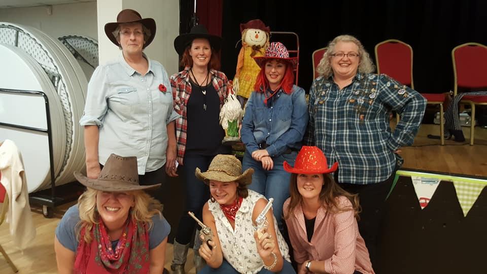 Weybridge Women's Insitute Social Group Barn Dance