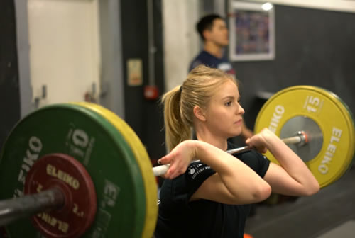 Strength Training Includng Weight Lifting Classes at Locker 27 Gym Weybridge Trading Estate