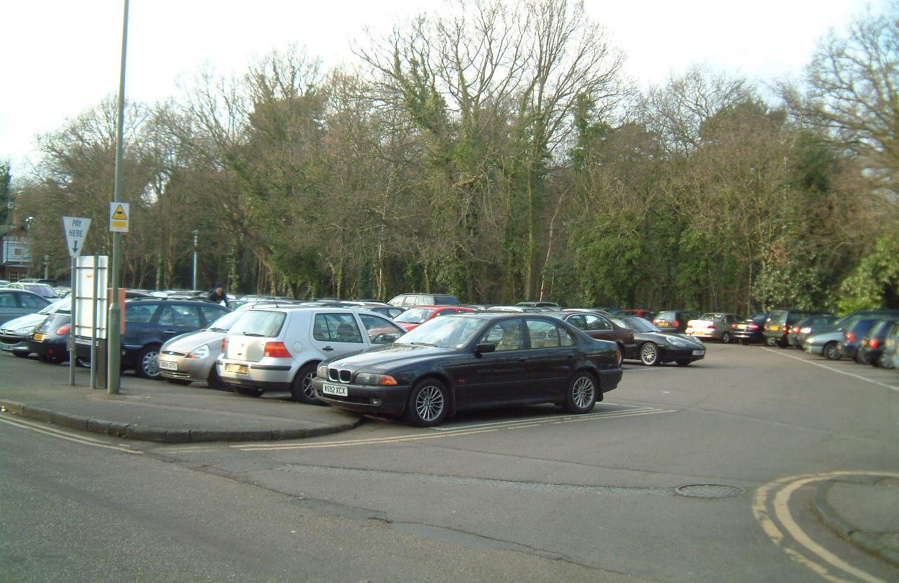 The Heath Car Park North, Weybridge - Near British Rail Station - Convenient For Commuting To London