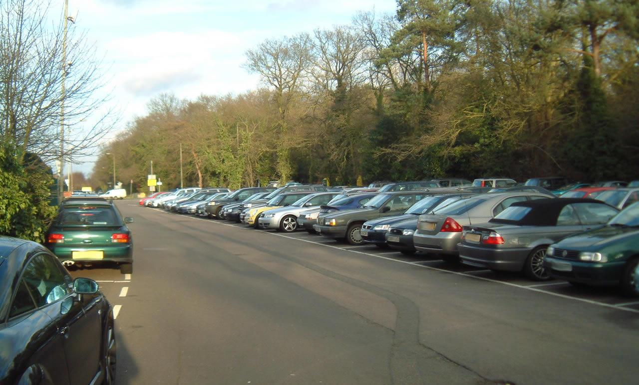 The Heath Car Parks North South Weybridge Station