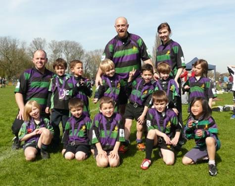 Weybridge Mini Vandals Junior Rugby