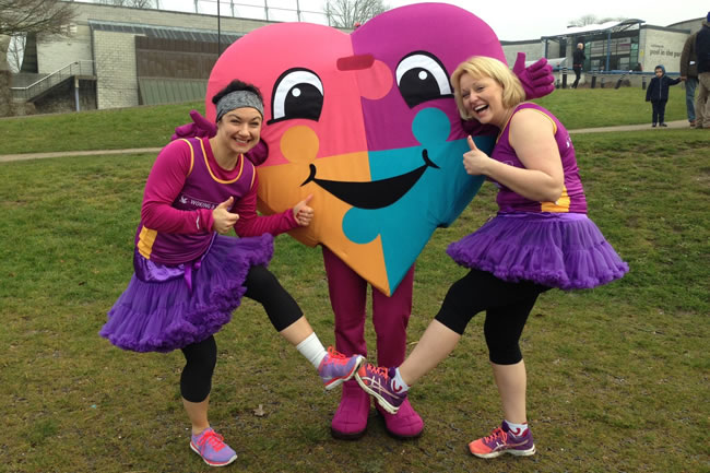 Woking & Sam Beare Weybridge Hospices - Run from Woking Sports Centre - fundraising for charity