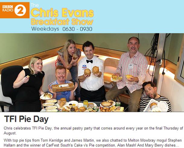 Alan Mash Chris Evans Show