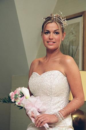 Bride Wedding Day Make Up Elmbridge Surrey Grace and Glitter