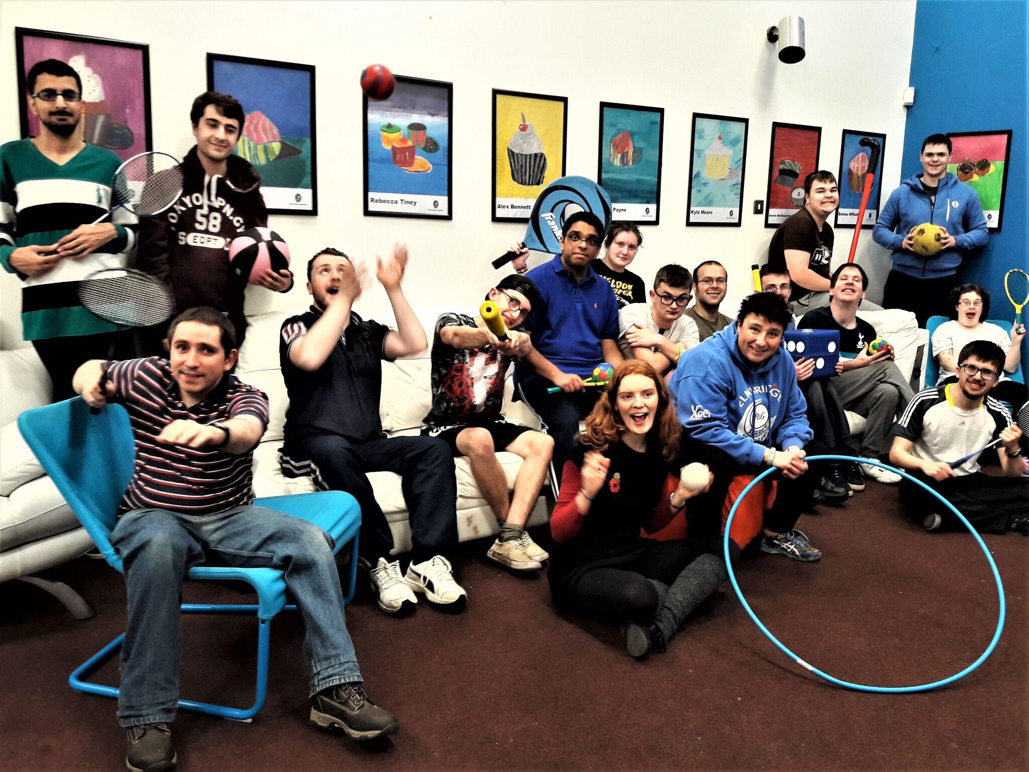 Elmbridge Community Link Sports Coaching Fun and Games at Walton Youth Centre, Hersham Rd, Walton-on-Thames Surrey