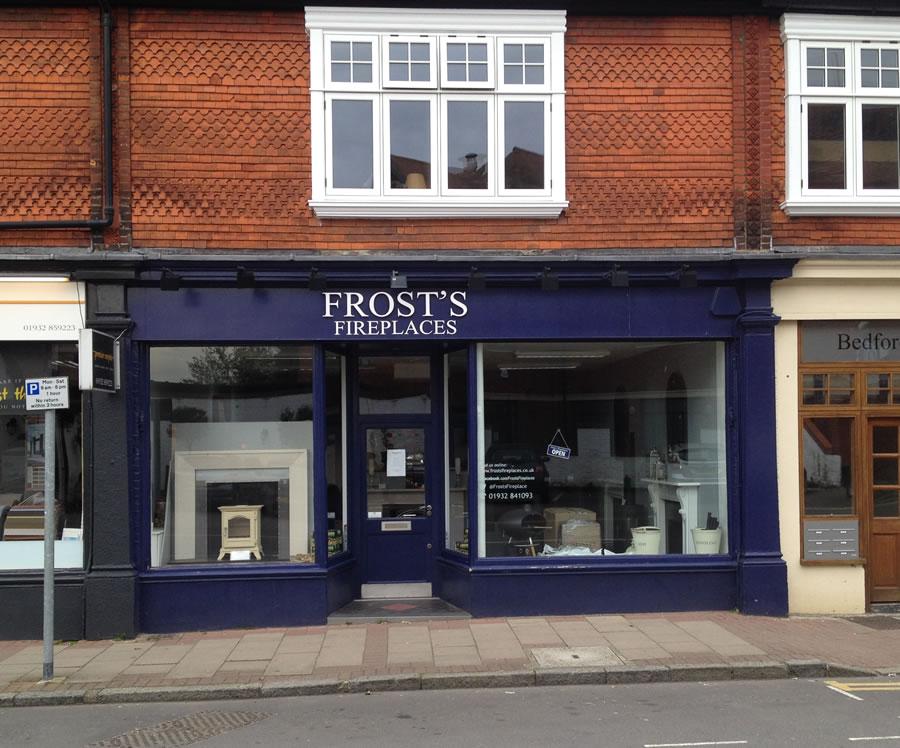 Frosts Fireplaces Weybridge Showroom - Shop in Church Street
