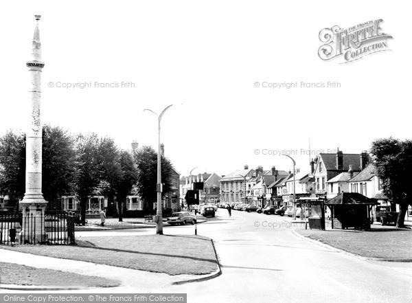 Historic View from Monument Green Weybridge