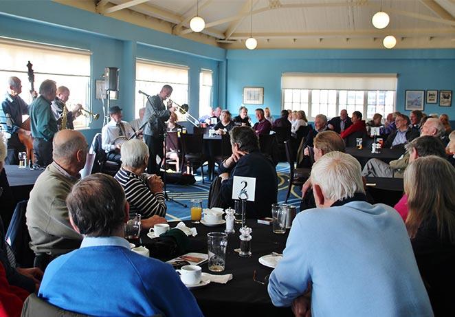 Jazz in Bar Club Brooklands Trust Members