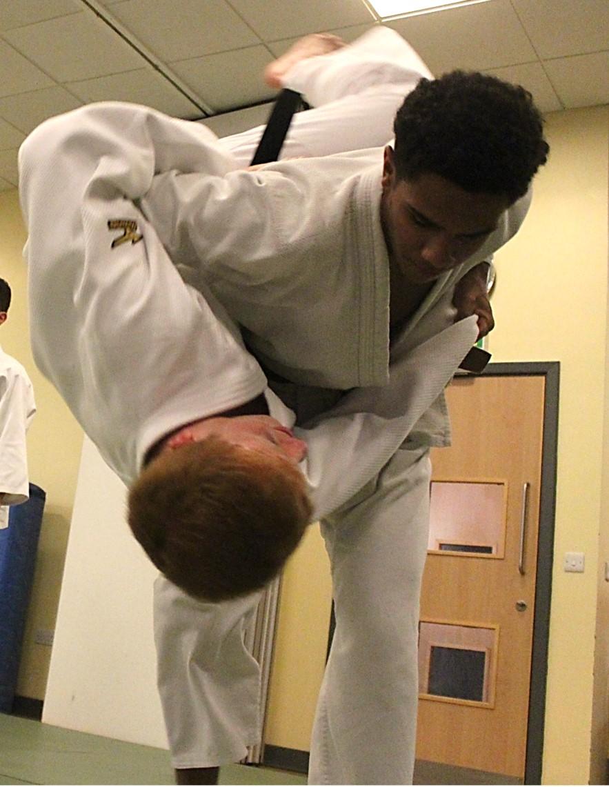 Judo Lessons for Adults and Teens at Elmbridge Xcel Sports Centre Walton Surrey