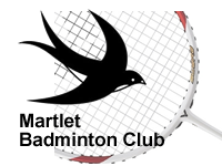 Martlet Badminton Club Woking Surrey - Teams compete in the Woking & Guildford District Badminton Leagues