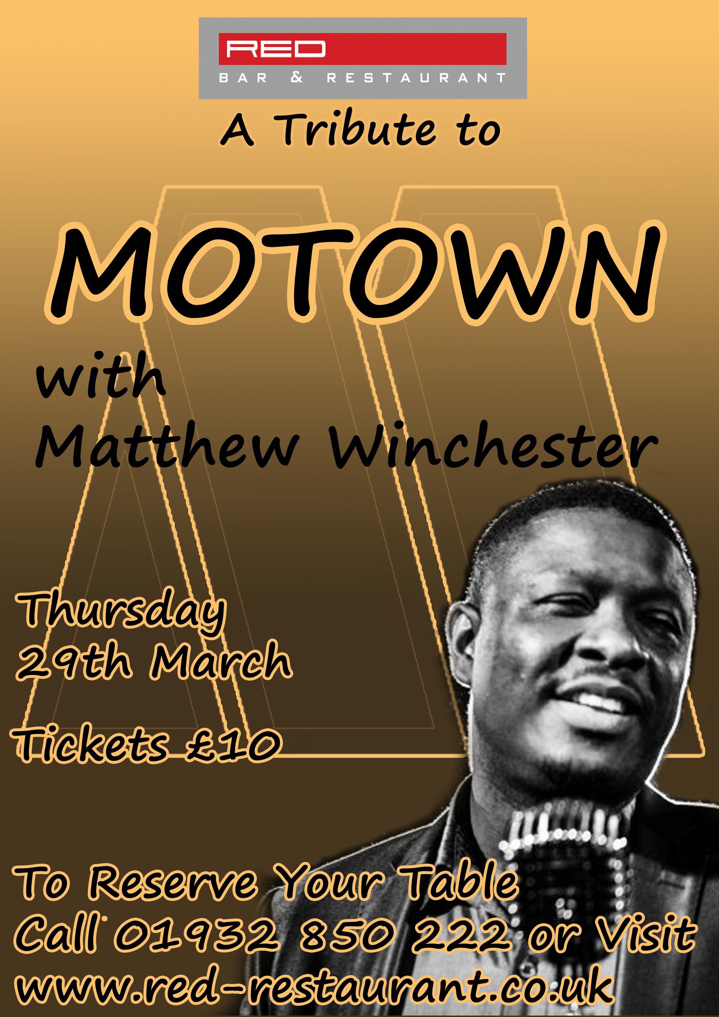 Motown Night - Matthew Winchester