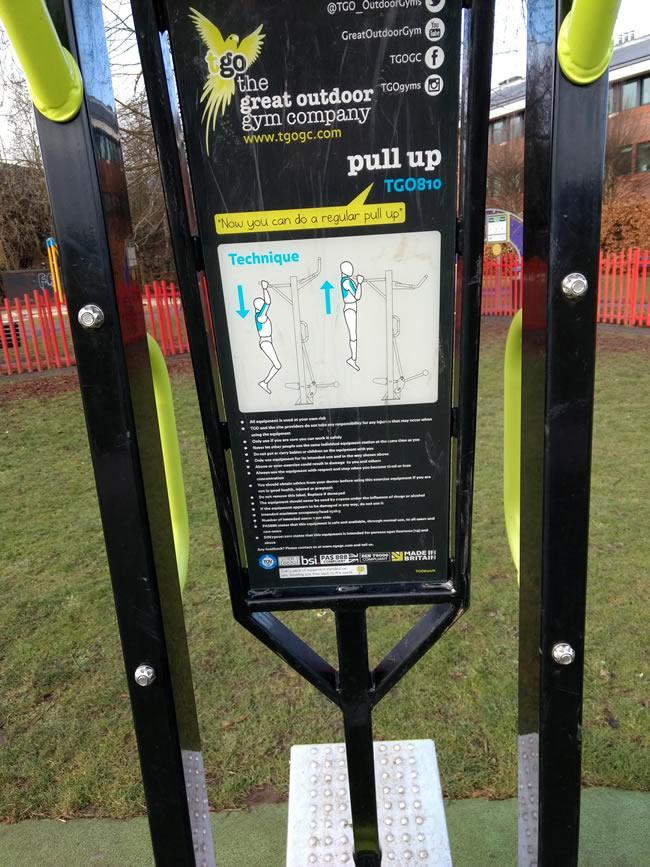 Outdoor Gym at Cobham Recreation Ground - Leisure Services of Elmbridge Borough Council