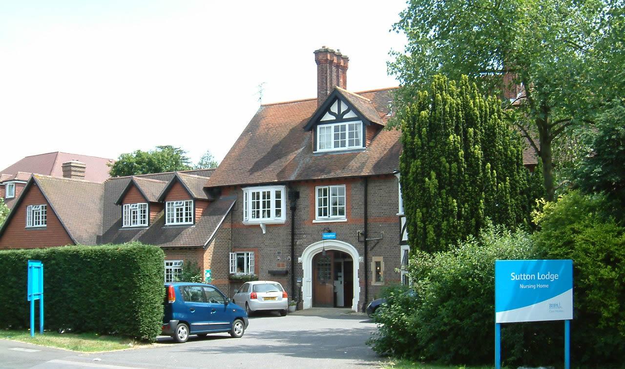 Sutton Lodge Care Home Weybridge