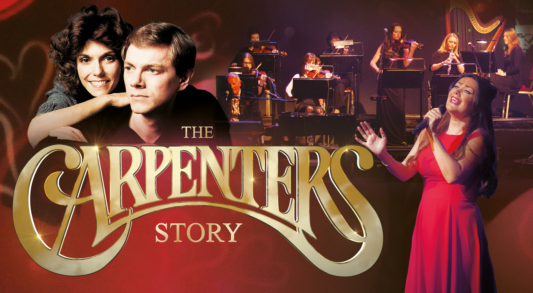 The Carpenters Story - Concert Style Production at GLive Guildford & The New Victoria Theatre Woking Surrey