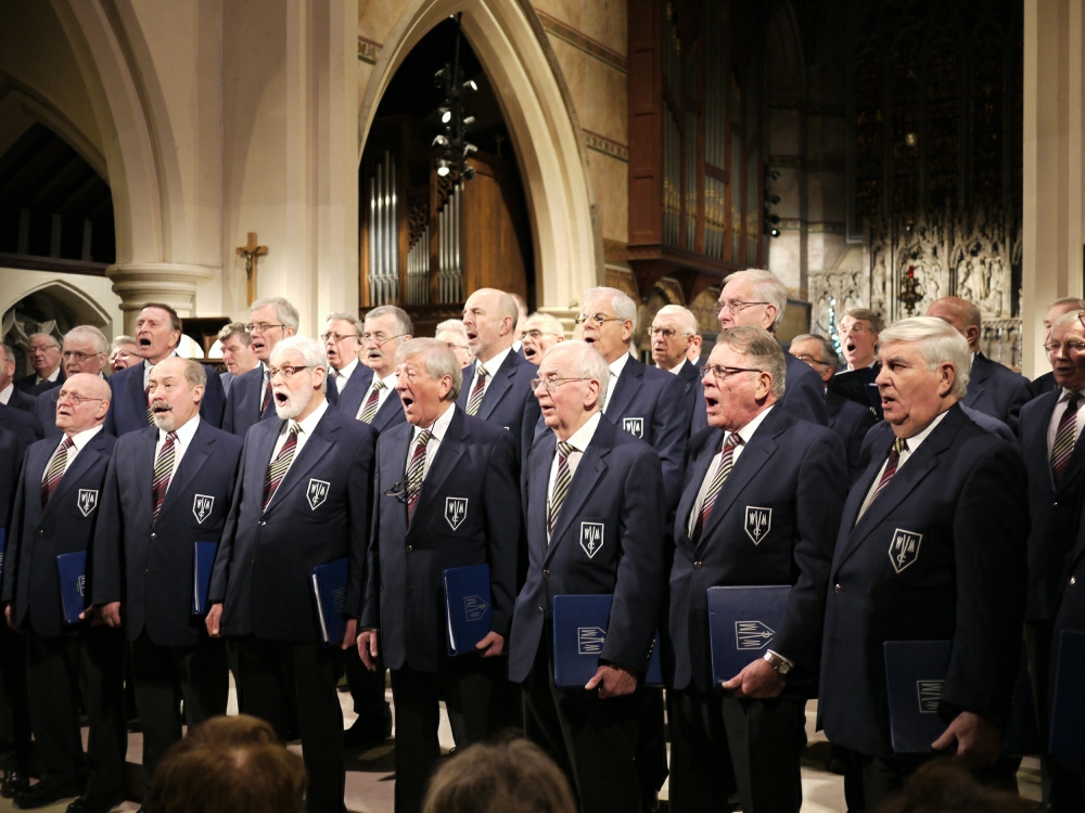 Weybridge Male Voice Choir will be singing at the Mayors Charity Concert in Cobham