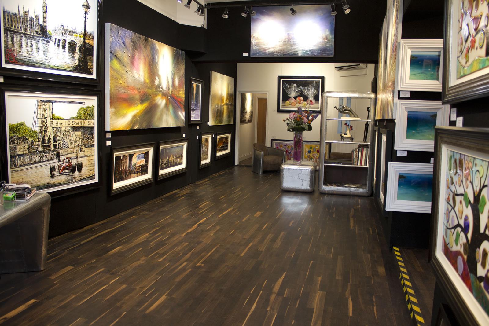 Wyecliffe Art Gallery Weybridge  Showroom