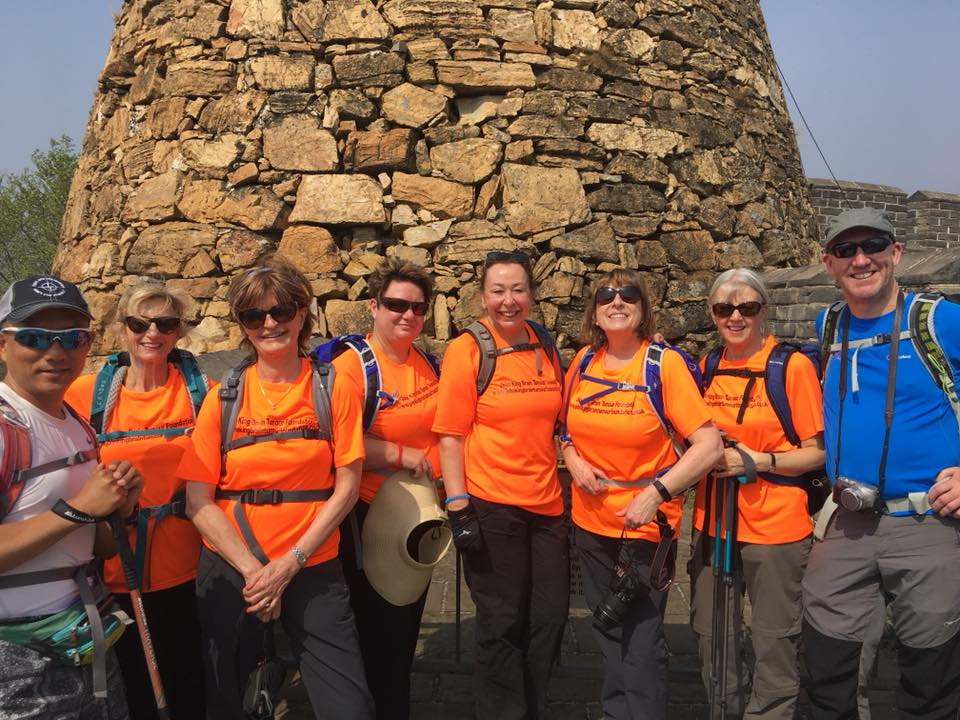 Great Wall of China - Charity Walk for The John King Brain Tumour Foundation