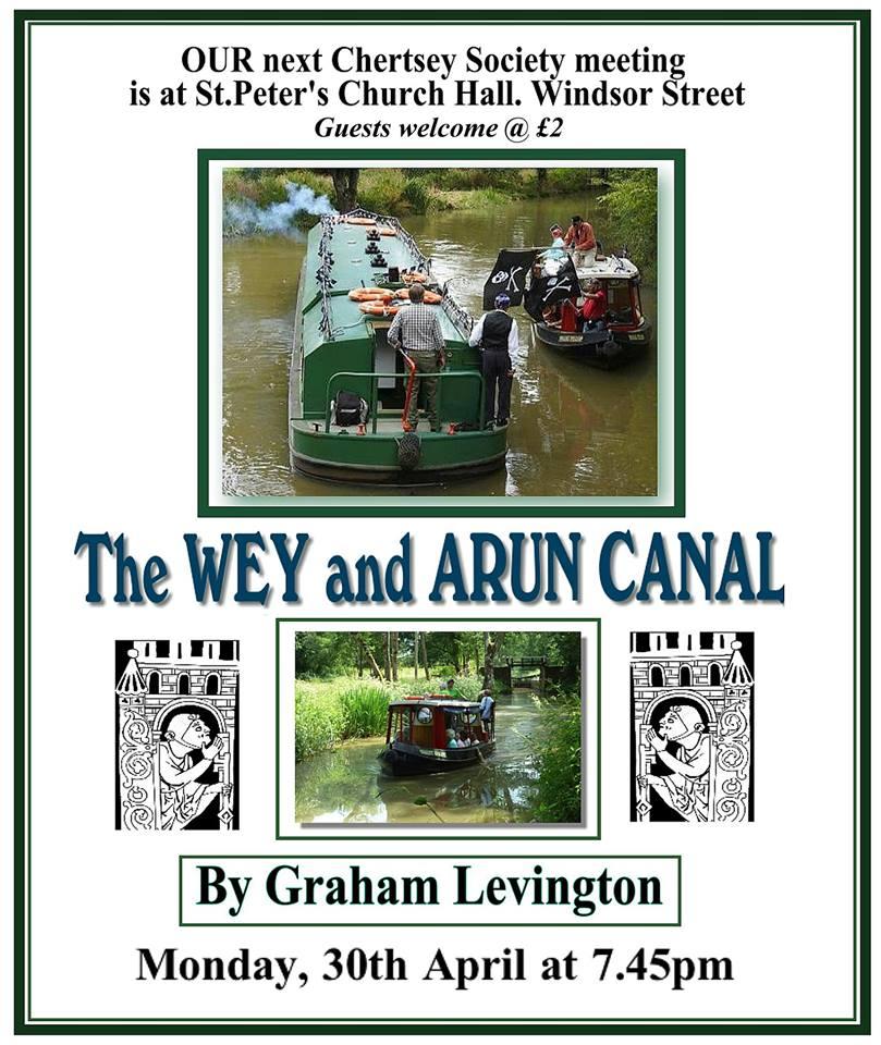 Chertsey Society Talk - The Wey & Arun Canal by Graham Levington