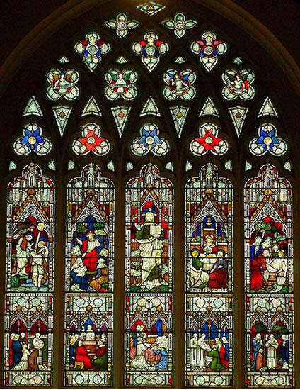 St James Church Sacramental Window