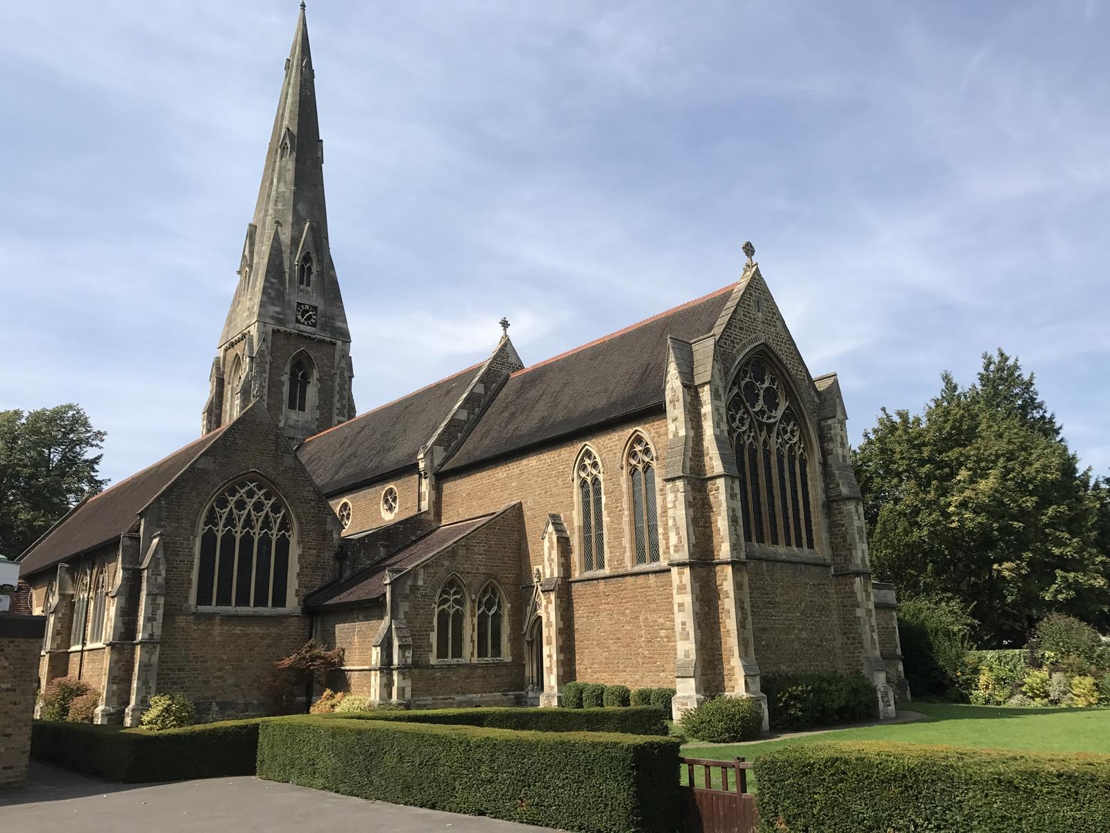 St James Church Weybridge Surrey