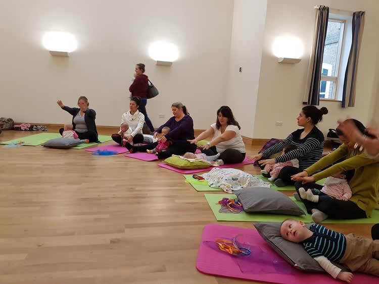 Baby Yoga Massage Pilates Surrey