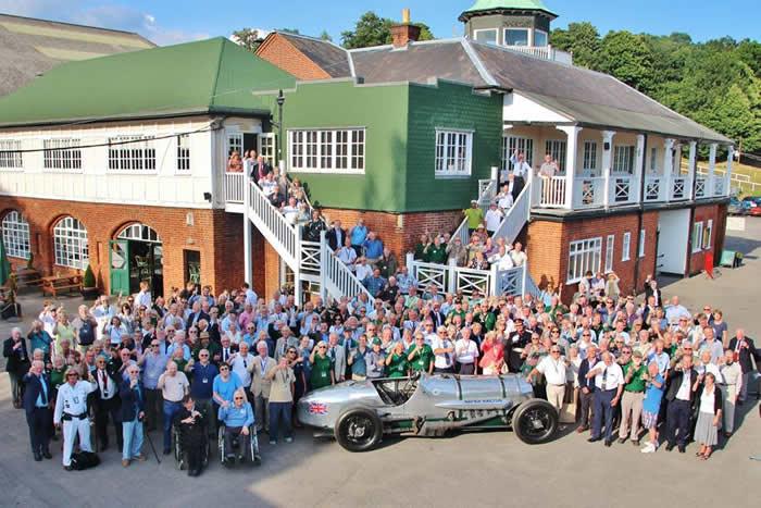 Brooklands Museum Receiving Queens Award for Volunteers