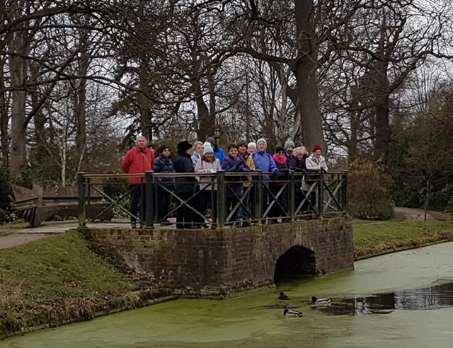 Bushy Park Walkers March 2018