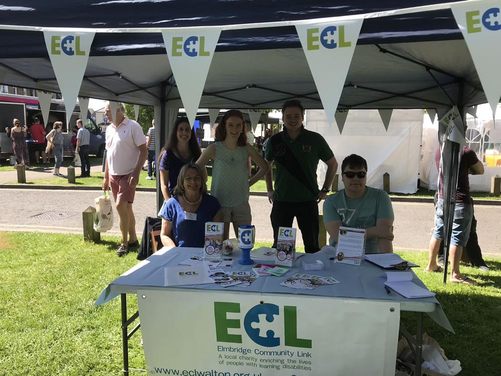 Elmbridge Community Link at Great Weybridge Cake Off 2018