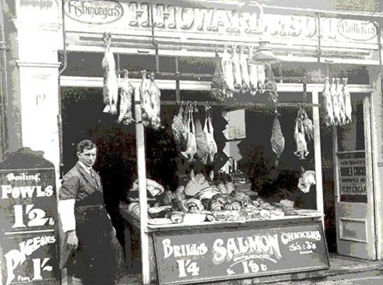 Howards Fishmongers Weybridge Surrey History