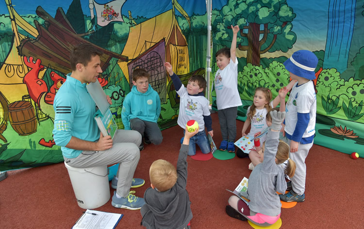 Kids Tennis Coaching Surrey